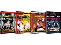MARCELO GARCIA dvds Brazilian jiu jitsu bjj - gracie barra - POSTAGE AVAILABLE gi training ufc mma