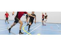 Play indoors futsal for Free in Central London
