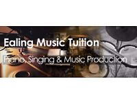 Singing / Piano / Music Production Lessons - Private Tuition in Ealing Broadway