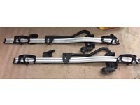 Two Thule 591 ProRide bike carriers
