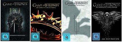 Game of Thrones Staffel 1-4 (1+2+3+4) DVD Set NEU OVP