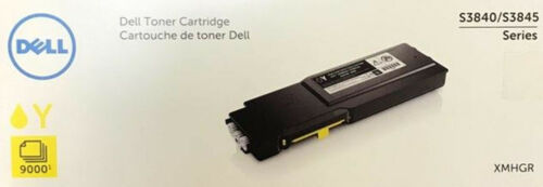 Dell S3840cdn/S3845cdn Yellow Toner - 9000 pg extra high yield -- part XMHGR