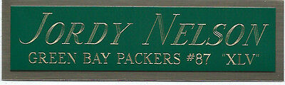 Used, JAMES JONES PACKERS NAMEPLATE FO AUTOGRAPHED SIGNED FOOTBALL-HELMET-JERSEY-PHOTO for sale  East Moline