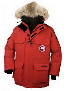 Red Canada Goose Men Expedition Parka