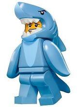 LEGO 'Shark Suit Guy' Minifigure Series 15 #13 Langwarrin Frankston Area Preview