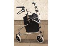 Rollator / Tri wheel walker for sale.