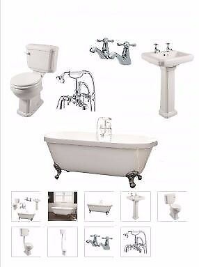 freestanding roll top bath package from as low as £549