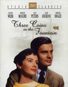 Three Coins In The Fountain (1954) / Clifton Webb / New DVD