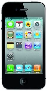 Apple iPhone 4   16GB -BELL -black-like NEW