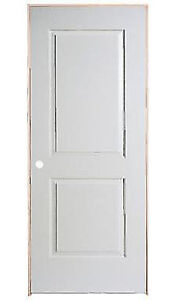 Masonite 30-inch x 80-inch Right hand 2-Panel Smooth Door