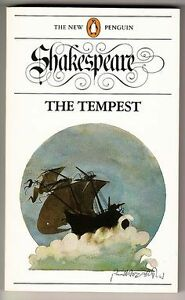 Shakespeare-The Tempest-Good paperback copy