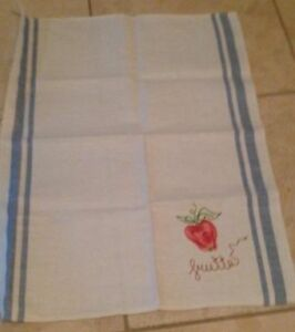 "From Italy - ""frutta"" dish towels 100% cotton Windsor Region Ontario image 2"