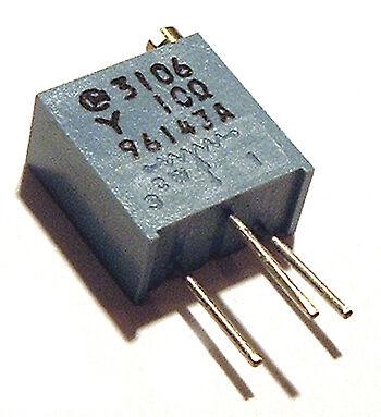 10 Ohm Trimmer Trim Pot Variable Resistor 3106y 10