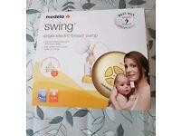 Medela Swing Electric Breast Pumpwith Calma