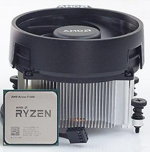 Ryzen 1600 CPU + Motherboard