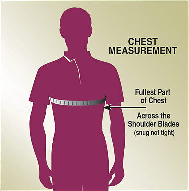 measure your chest for better fitting shirts ebay. Black Bedroom Furniture Sets. Home Design Ideas