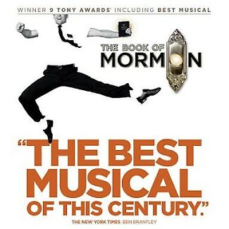 The Book Of Mormon Musical Stalls Seating Tickets