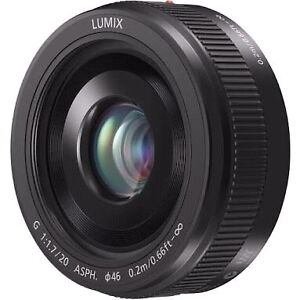 Panasonic LUMIX G 20mm f/1.7 II ASPH..Brand New.Aus Stock Greenslopes Brisbane South West Preview