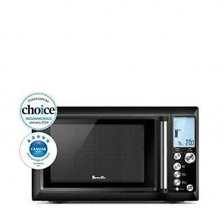 Breville Quick Touch Microwave Black