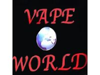 Shop Assistant required, Retail Job, Vape World, E-Liquid, E-Cig, Oldham / Manchester Immediate