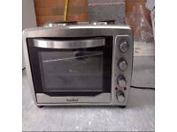 VonShef Large 36L Convection Mini Oven, Grill & Rotisserie with Double Hob