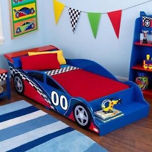 KidCraft Toddler Race Car Bed ~ Brand NEW in Box ~ Schofields Blacktown Area Preview