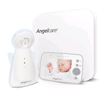 Angelcare AC1300 Sound and Video Monitor with Sensor Pads