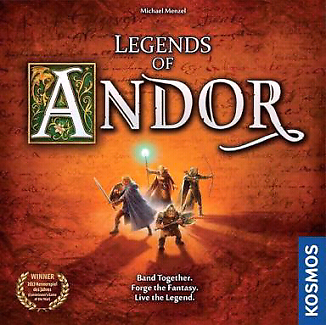 Legends of Andor + Star Shield + New Heroes