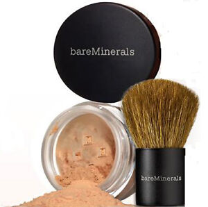 Bare Minerals  FOUNDATION - Travel Size + Baby Buki  - MEDIUM TAN - Matte