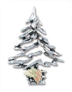 silver christmas tree pins - Silver Christmas Tree