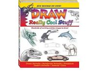 Draw really cool stuff 6 in 1 book