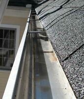Gutter•eavestrough cleaning
