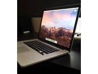 """Macbook pro retina i7 15"""""""