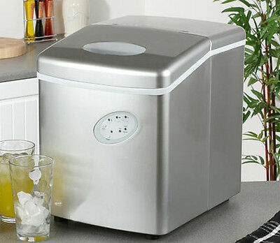 Ice Maker Ice Cube Machine - No Plumbing Needed