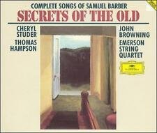Complete Songs of Samuel Barber ~ Secrets of the Old / Studer, Hampson, Browni..