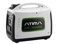 Atima Inverter Generator 2000W Quiet Portable 4-Stroke Petrol Outdoor Travel Home SD2000i