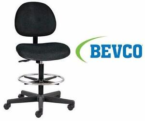 NEW BEVCO TASK FABRIC CHAIR BLACK BLACK - OFFICE FURNITURE STUDENT HOME  83169441