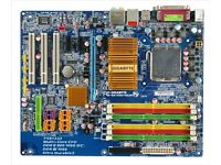 MOTHERBOARD GIGABYTE GA-P35-DS3 P ATX VGC FULLY TESTED!