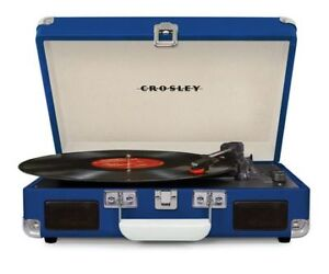 Crosley Cruiser Deluxe Portable 3-Speed Turntable (NEW)