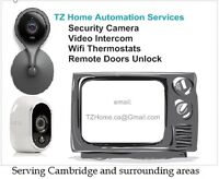 Cambridge Wireless Security Camera - Wifi Thermostat - Remote Do