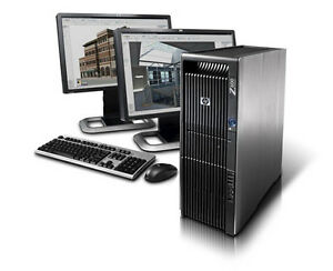 HP Z600 Workstation i7 2xSix-Core 24GB DDR3 128GB SSD HDD Power
