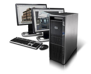 HP Z600/Z800 2xSix-Core E5645 24GB DDR3 128GB SSD+2TB HDD