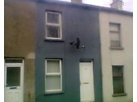TO LET 2 BEDROOM HOUSE IN BANBRIDGE KENLIS ST CLOSE TO TOWN CENTRE OFCH PVC WINDOWS&DOORS FURNISHED