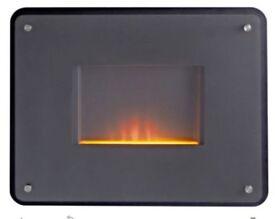 New FELICIA Black Manual Control Electric Fire