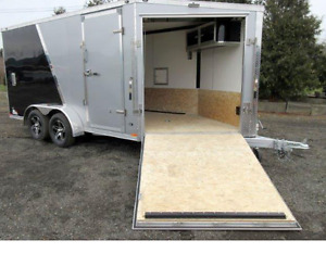 Cargo Trailer Miska 19ft Hauler trailer