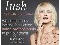 Hair salon for lease - on going concern