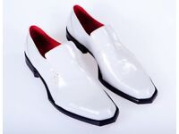 Oliver Sweeney Shoes. White Leather. Brand New. Size 7.
