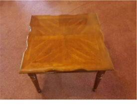 Beautiful square coffee/side table