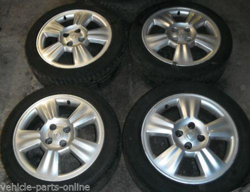 Renault Scenic Alloy Wheels Ebay