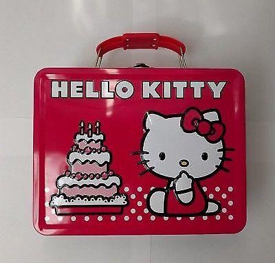 Hello Kitty Sanrio Lunch Box Collectible Tin - Tin Lunch Boxes